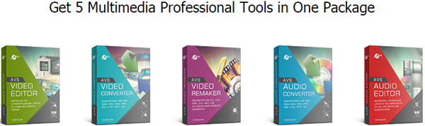 AVS 5 Professional Tools